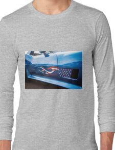 Patriotic Chevy Corvette  Long Sleeve T-Shirt