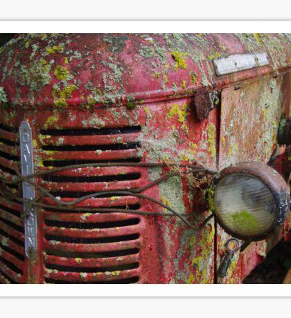 Rusty Tractor Sticker