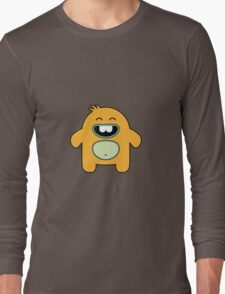 Seamless pattern with cute monsters. Long Sleeve T-Shirt
