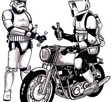Stormtroopers with Norton by John Menezies