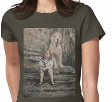 An Old Friend Womens Fitted T-Shirt