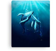We're so small Canvas Print
