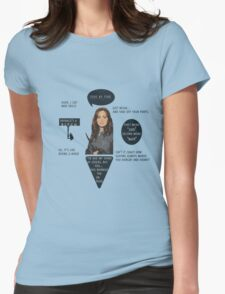 Faith Lehane - BTVS  Womens Fitted T-Shirt