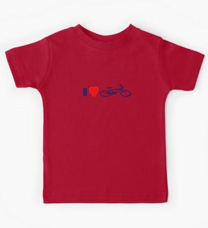 I Love BMX T-Shirt - Cool Bike Phone Cover Kids Tee