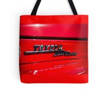 Toyota Land Cruiser emblem Tote Bag