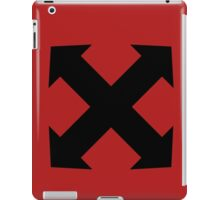 Assault Arrows Blk iPad Case/Skin