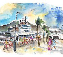 Floating Restaurant in Cartagena by Goodaboom