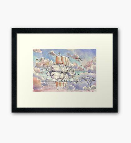 Il Veliero Volante Framed Print