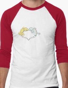 Gecko Heart Men's Baseball ¾ T-Shirt