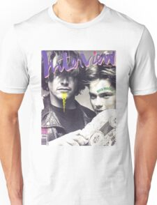 River Phoenix and Keanu Reeves (Interview Magazine) Unisex T-Shirt