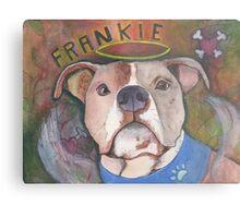 Frankie  Metal Print