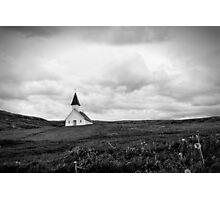 Icelandic Church Photographic Print