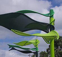 Metal Flags by lezvee