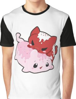 CakeyCat  Graphic T-Shirt