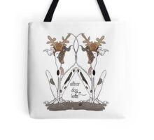 Alibar Dog Knits Tote Bag