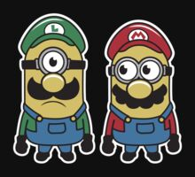 Super Minion Bros T-Shirt