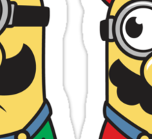 Super Minion Bros Sticker