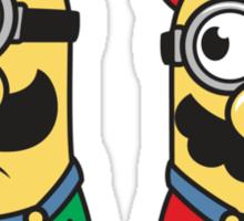 Super Minion Bros Sticker