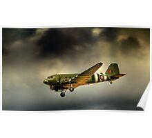 Battle of Britain memorial flight Dakota  Poster