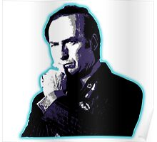 Awesome Saul Goodman - Stencil - Breaking Bad Better call Saul - Street art Graffiti Popart Andy warhol Poster