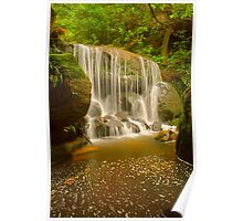 Leura Waterfall Poster