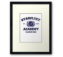 Starfleet Acadmey Class of 2258 Framed Print