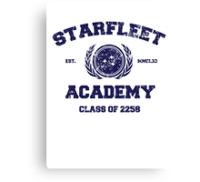 Starfleet Acadmey Class of 2258 Canvas Print