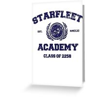 Starfleet Acadmey Class of 2258 Greeting Card