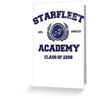 Starfleet Acadmey Class of 2258 Greeting Card