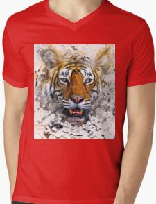 Bengal tiger Mens V-Neck T-Shirt