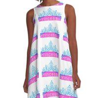Princess - Tiara (white base only) A-Line Dress