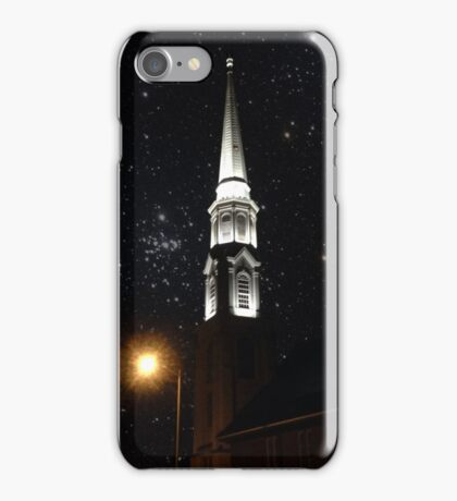 On The Churches Night  iPhone Case/Skin
