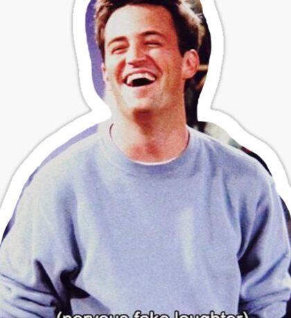 Chandler Bing Friends TV Sticker