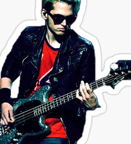 Mikey Way on Bass Sticker