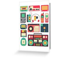 Retro Technology Greeting Card