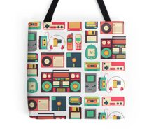 Retro Technology Tote Bag