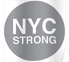 NYC Strong Poster