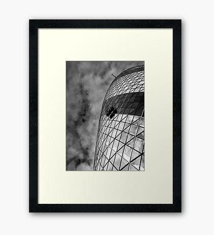 Remuneration - London Lights Framed Print