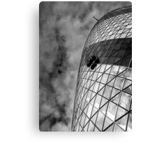 Remuneration - London Lights Canvas Print