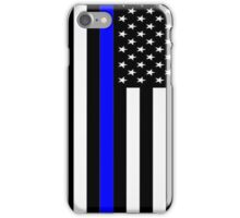 Police Flag iPhone Case/Skin