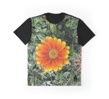 Fire Flower High Definition Render Graphic T-Shirt