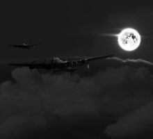 Bombers Moon  by J Biggadike