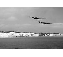 Birds Over The Cliffs  Photographic Print