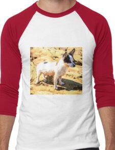 Cute Puppy Men's Baseball ¾ T-Shirt