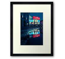 Observation - London Lights Framed Print