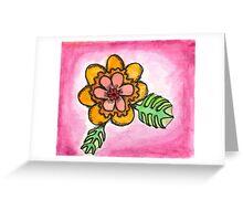 Watercolor Wildflower 1 Greeting Card
