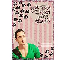 My Teenwolfed Valentine[I Like To Cuddle] Photographic Print