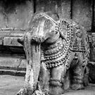 Carved Elephant by Neha  Gupta