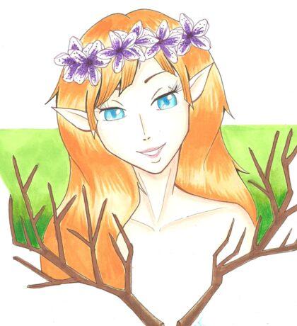 Forest Elf Sticker