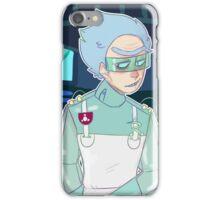 Surgeon Rick Pocket Mortys iPhone Case/Skin